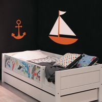 Sailboat and Anchor - Wall Decals