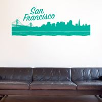San Francisco Skyline - Wall Decals