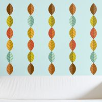 Simple Mod Leaves - Printed Wall Decals
