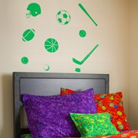 Sports Fan - Wall Decals