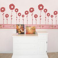 Sunflowers - Set of 7 - Wall Decals