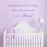 The Smallest Things - Quote - Wall Decals