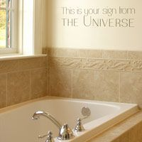 This is your sign from the Universe - Quote - Wall Decals