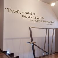 Travel is Fatal to Prejudice, Bigotry and... - Mark Twain - Quote - Wall Decals