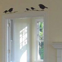 Twelve Little Birds - Vinyl Wall Decals