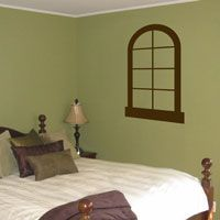 Faux Window - Vinyl Wall Decal