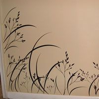 Wispy Sea Grass - Wall Decals