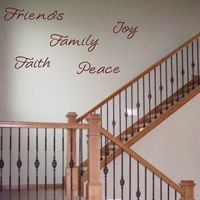 Wall Words - Set of 5 - Wall Decals