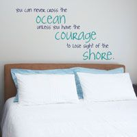 You Can Never Cross the Ocean... - Wall Decals