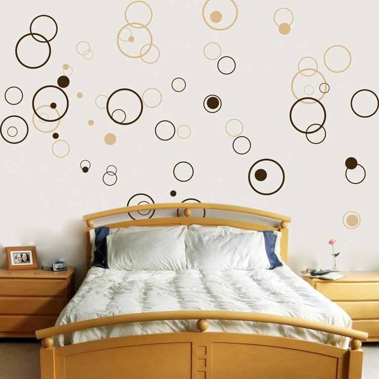 Circles Bubbles Set Of 72 Vinyl Wall Decals