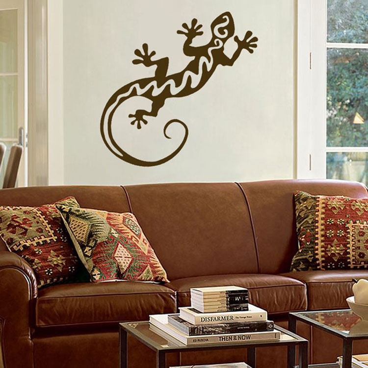 Large Southwest Gecko Or Lizard Wall Decal Sticker Graphic