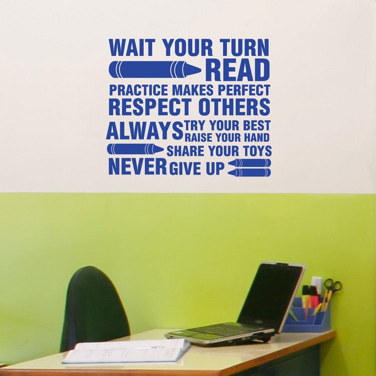Classroom Wall Decals - Elitflat