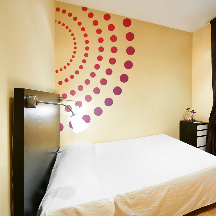 Giant Colorful Circles & Dots - Printed Wall Decals Stickers Graphics