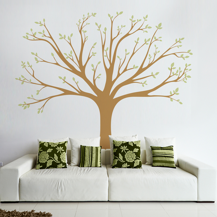 Lively Family Tree Wall Decals Stickers Graphics