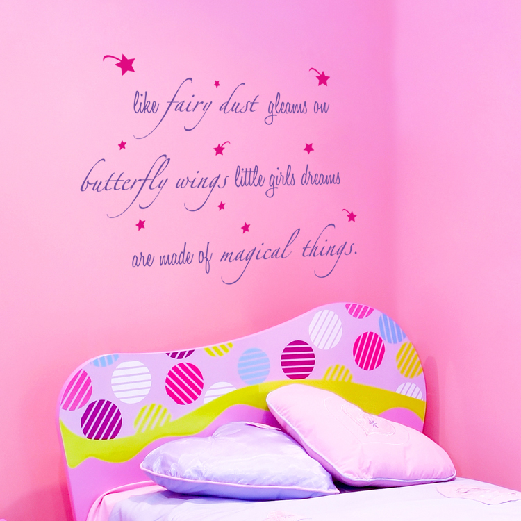 Like Fairy Dust Quote Wall Decals Stickers Graphics