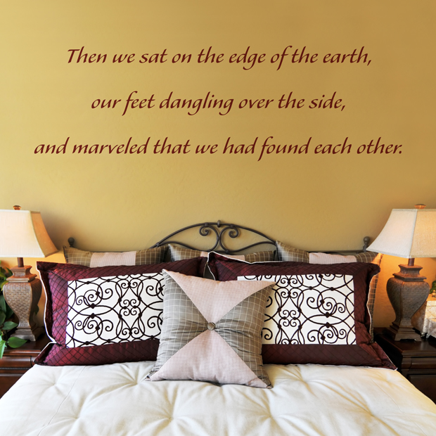 We Found Each Other Quote Wall Decals Stickers Graphics