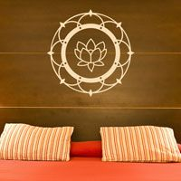 Lotus Flower Blossom - Wall Decal