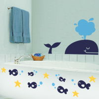 Whale & Pals - Wall Decals